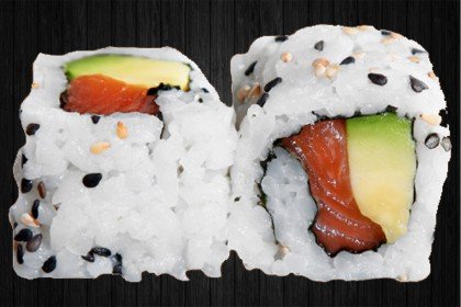 California Roll Avocat saumon 6p
