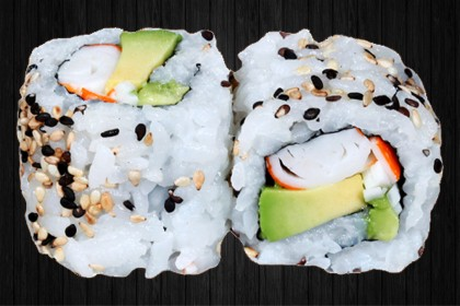 California Roll Surimi avocat 6p