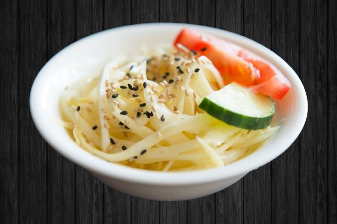 Salade choux blanc
