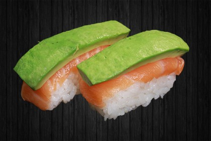 Sushi Shaké (saumon au avocat) 2p