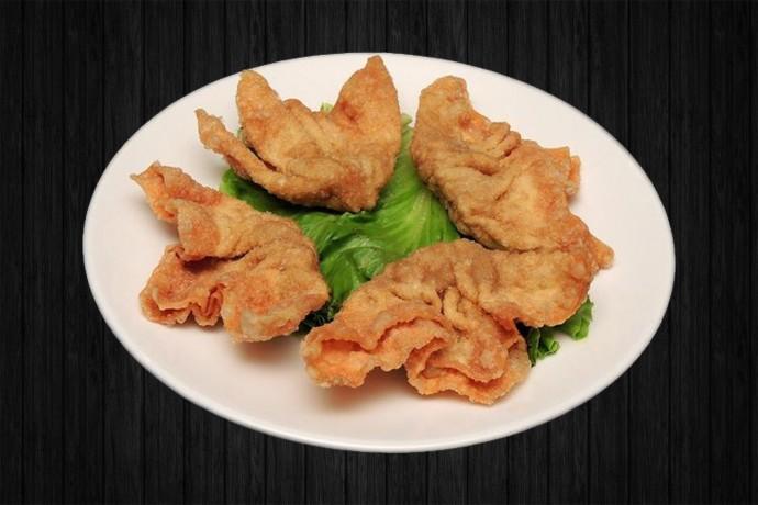 4 Raviolis frits aux crevettes
