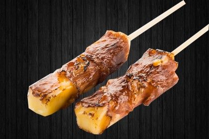 Yakitori Cheese (bœuf au fromage) 2p