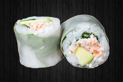 Spring Roll Avocat surimi 6p