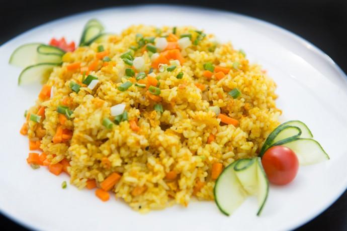 Sp9 Riz au poulet curry